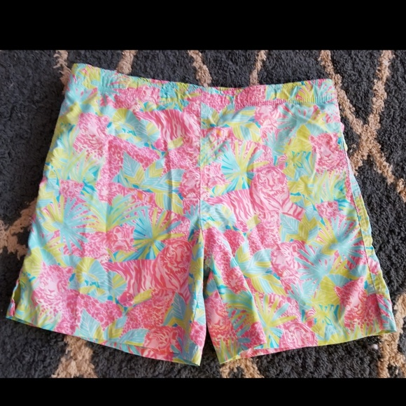 7ddcd8dc3f Lilly Pulitzer Other - Lilly Pulitzer Boys Swim Trunks Suit Boys Large